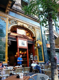 by elinor04, via Flickr-cafe in Budapest, Hungary