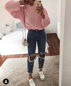 Outfits Juvenil – Page 5356747783 – Lady Dress Designs Rainy Day Outfit For Spring, Cute Rainy Day Outfits, Cute Casual Outfits, Edgy Outfits, Club Outfits, Mode Outfits, Fall Outfits, Fashion Outfits, Ootd Fashion