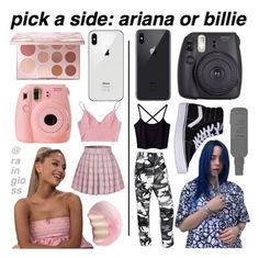Are You Team Ariana Style or Team Bille Style? Choose Your Style Preference And Checkout Our Website For the Most Amazing Fashion Trends! Link In Description Below. Girl Life Hacks, Girls Life, Aesthetic Fashion, Aesthetic Clothes, Teen Fashion Outfits, Girl Outfits, Preteen Fashion, Fashion Fashion, Fashion Trends