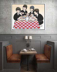 Parisi Studios: Breakfast with the Beatles