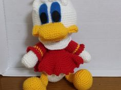 Çocukların güvenle oynayabileceği tamamamen organik el örgüsü oyuncak... oyuncak ördek