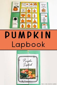 To learn more about Pumpkins and their life cycle, this Pumpkin Lapbook a great hands-on activity that contains lots of fun and interesting elements.