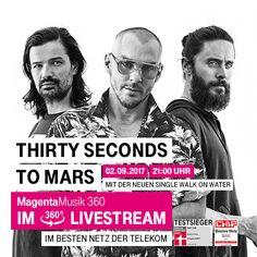 Bericht und Fotos: Thirty Seconds To Mars – Telekom StreetGigs (Berlin, 02.09.2017) - DeepGround Magazine