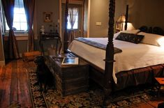 One of the best Bed & Breakfast experiences in America at 'Boone's Colonial Inn' (South Main Street) in historic St. Charles, MO