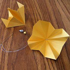 Diamond Origami Ornament Construction