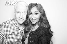 Anderson and Snooki / Co-Host Photo Booth Gallery - Anderson Cooper Photo Gallery