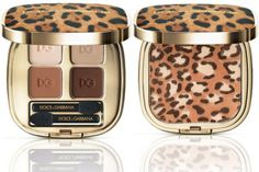 The follow-up to last year's wildly successful Animalier, this year's iteration of the animal-print bronzer is presented with a whole line of complementary eye and lip hues, all packaged in sexy, cheetah-embossed cases.    Dolce & Gabbana Animalier Collection, $34-$67, available at Saks Fifth Avenue