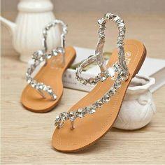 20 Pretty Flats for Every Summer Bride | Pinterest | Flat wedding ...