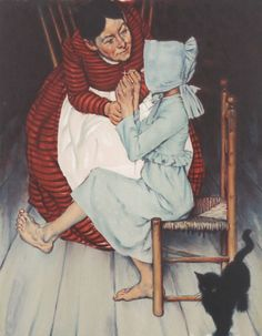 """""""My hands shook"""" by Norman Rockwell"""