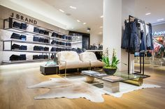 J BRAND Retail Interior | Selfridges, 2013 by Millington Associates