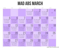 I loved Fab Ab February so I'm going to try this.