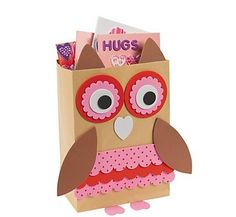 Valentine Classroom Sharing Owl Card Holder Box Craft Kit ** Check this awesome product by going to the link at the image.