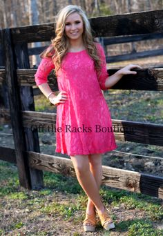 Off the Racks Boutique - Simple Lace Dress, $42.99 (http://www.shopofftheracks.com/simple-lace-dress/)
