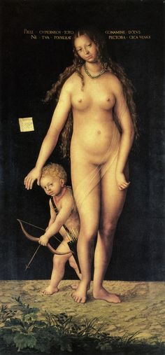 Venus and Cupid. Lucas Cranach the Elder, 1509