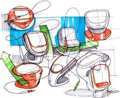 Sketch-A-Day: Daily Sketches from Industrial Designer, Spencer Nugent - Page 355