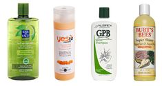 SLS and paraben-free shampoos . . . I love the kiss face brand