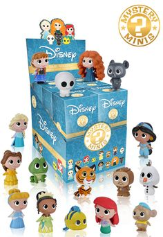 Disney Princesses Mystery Minis Vinyl Figure Display Case - Funko - Disney Princesses - Mini-Figures at Entertainment Earth Funko Mystery Minis, Disney Toys, Disney Movies, Disney Magic, Disney And Dreamworks, Disney Pixar, Toys For Girls, Kids Toys, Disney Stockings