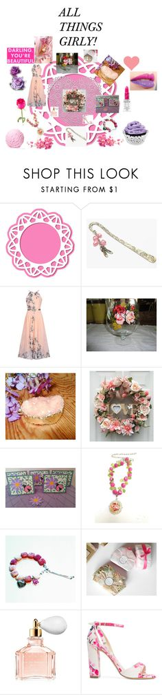 ALL THINGS GIRLY by christine-bygrave on Polyvore featuring WithChic, Monique Lhuillier, Guerlain, Wilton, Naoto, etsylove, EtsyTeamUnity, etsyevolution and etsyletspromote