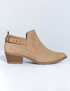 Low Ankle Boot from Lane Bryant