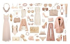"""""""Nude in New York"""" by delaneyp ❤ liked on Polyvore featuring Charlotte Tilbury, Givenchy, BCBGMAXAZRIA, Giorgio Armani, HarLex, L'Agent By Agent Provocateur, Topshop, BLANCHA, E L L E R Y and Christian Louboutin"""