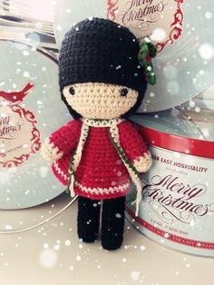 Custom order Girl in Red for the Birthday Girl ~♡ Crochet Amigurumi, Amigurumi Patterns, Amigurumi Doll, Crochet Patterns, Love Crochet, Crochet Gifts, Beautiful Crochet, Knit Crochet, Crochet Classes