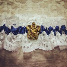 And make this Ravenclaw garter your 'something blue'. | 27 Things You Need To Have A Classy AF Harry Potter Wedding