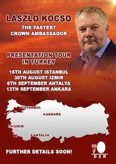 Your DXN succes in Turkey: Presentations in Turkey