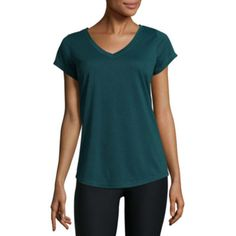 Xersion Short Sleeve V Neck T-Shirt