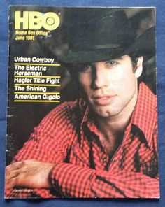 1981 HBO Guide TRAVOLTA Fonda HESTON Hagler GERE Home Box Office TV Mag June  | Entertainment Memorabilia, Television Memorabilia, Merchandise & Promotional | eBay!