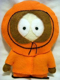Kenny doll from South Park. Also has Mysterion outfit.