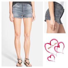 SALE Hudson Tori Vice Versa 23 Denim cut off shorts size 23.  New. Hudson Jeans Shorts Jean Shorts