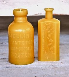 Beeswax Candle Gift Set - Boston Bottle Collection