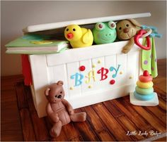 Baby Toy Chest Cake