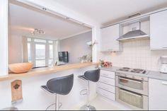 modern take on serving hatch Family Kitchen, Kitchen Living, New Kitchen, Kitchen Decor, Kitchen Design, Living Room Remodel, Kitchen Remodel, Kitchen Diner Lounge, Open Plan Kitchen