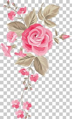 Floral design Flower, Dream colorful flowers, white and pink flowers illustration PNG clipart Pink Rose Png, Watercolor Flowers, Watercolor Paintings, Illustration Blume, Watercolor Wedding Invitations, All Flowers, Drawing For Kids, Wallpaper Backgrounds, Embroidery Designs