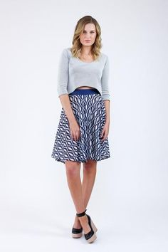 Tania Culottes by Megan Nielsen in short length