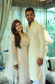 Wahab Riaz And Wife Zainab Wahab celebrity gossips