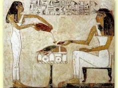 Egypt: The Private Tomb of Rekhmire on the West Bank at Luxor (ancient Thebes) Ancient Egyptian Food, Life In Ancient Egypt, Egyptian Women, Ancient History, Kemet Egypt, Luxor Egypt, Les Religions, Archaeological Finds, Archaeological Discoveries