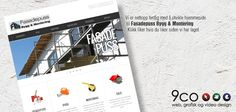 Take a look at the new homepage we made for a new customer. Web Design, Design Web, Website Designs, Site Design
