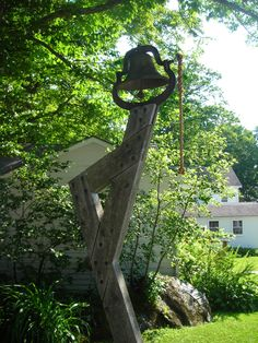 The bell at Jacob's Pillow in The Berkshires, Massachusetts