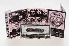 Mr. Bungle's mind-boggling 1989 demo OU818, recorded shortly before singer Mike Patton joined Faith No More. Most of the songs would be re-recorded for the band's 1991 John Zorn-produced debut, one of the strangest albums ever released on Warner Bros.  Cassette Artwork.