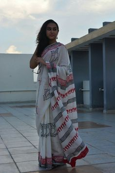 Abheri's beautiful creation in soft cotton fabric