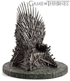 """The Iron Throne #Game Of Thrones A Song Of Ice And Fire Replica Statue Figure 7/"""""""