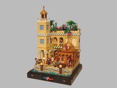 This moc is made for Guilds of Historica on Eurobricks Lego Age, Lego Indiana Jones, Lego Boards, All Lego, Lego Modular, Lego Castle, Star Wars Boba Fett, Lego Architecture, Lego House