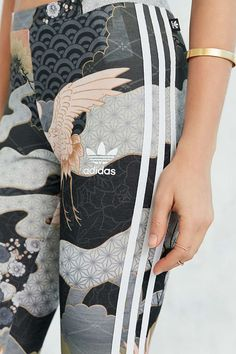 Adidas makes a kimono style pair of sweatpants, could it be a new trend for all types of sportswear ?