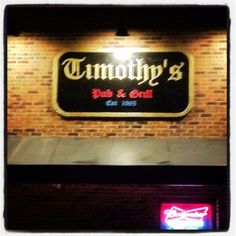 Timothy's Bar; University of Dayton
