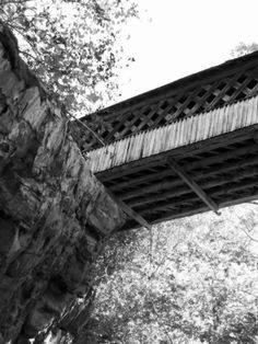 The covered bridge of blount county