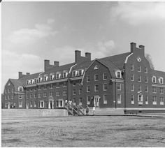 James Hall newly completed, 1963 :: Ohio University Archives