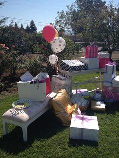 Kate Spade Inspired Bridal Shower #katespade #bridalshower #gifts
