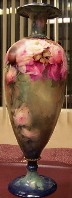 awsome painted vase